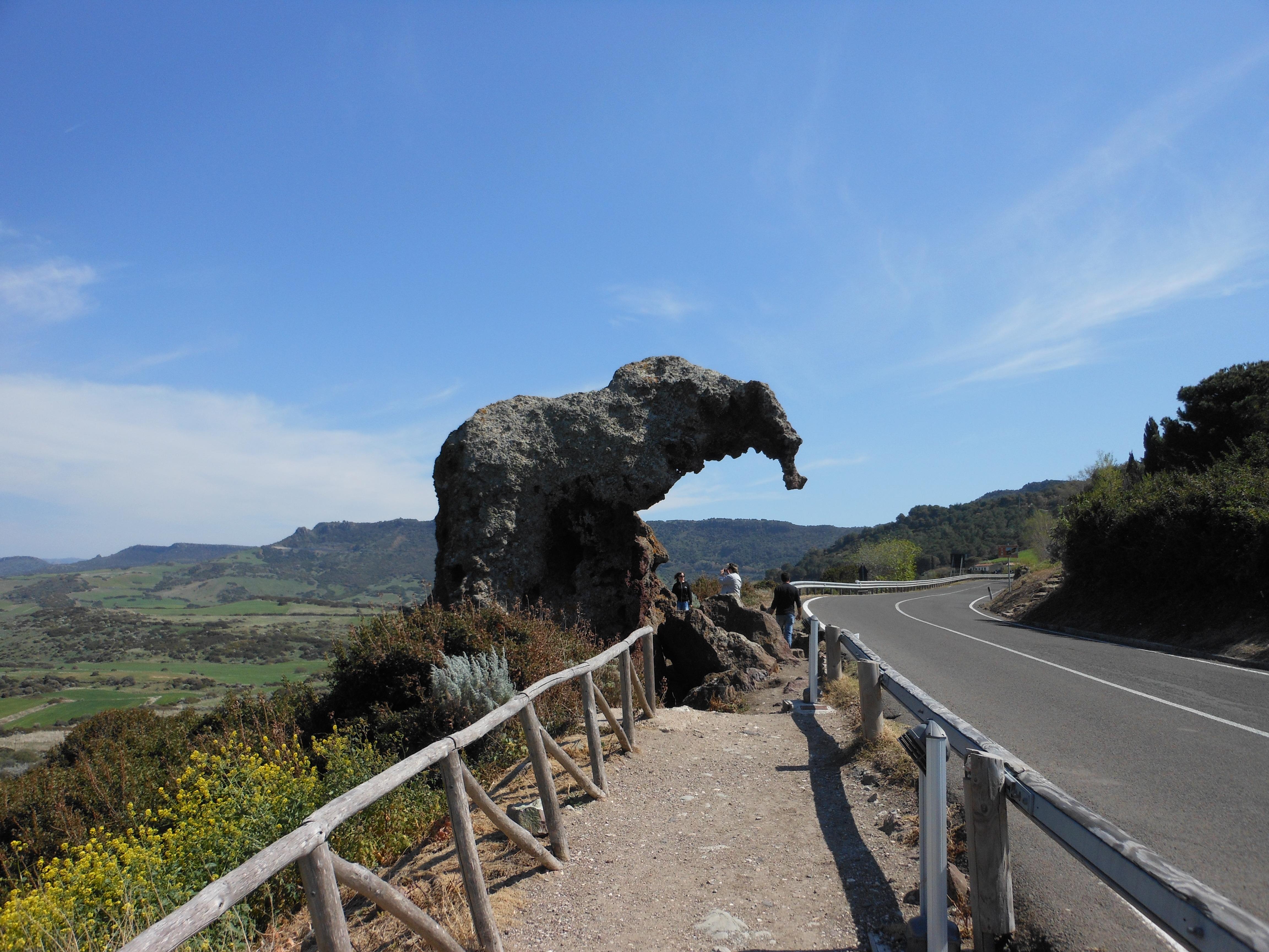 Sloní skála u Castelsarda